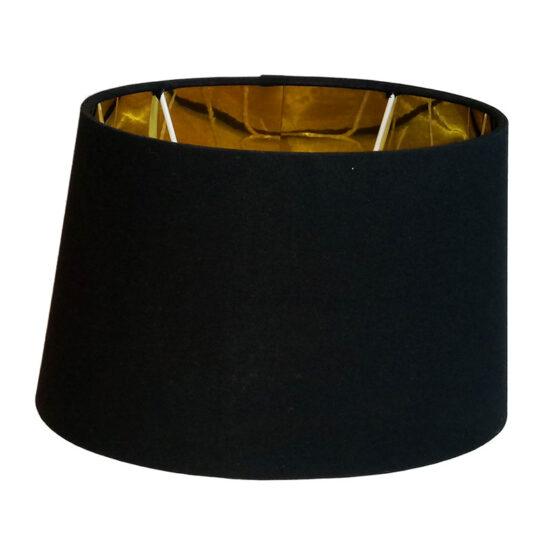 Fekete/arany lámpaernyő