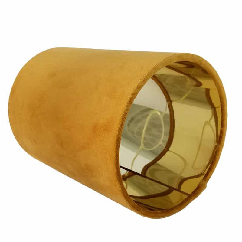 Mustársárga lámpaernyő