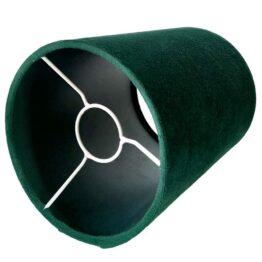 Zöld bársony lámpaernyő