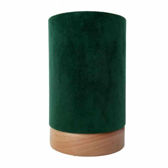 Sötétzöld asztali lámpa