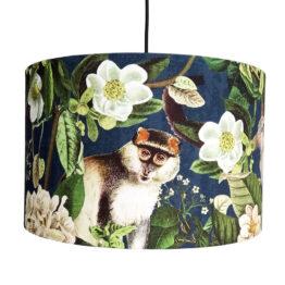 Dzsungeles, majmos lámpaernyő