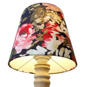 Rózsás lámpaernyő
