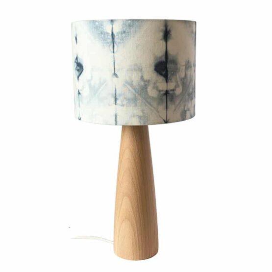 Asztali lámpa Shibori