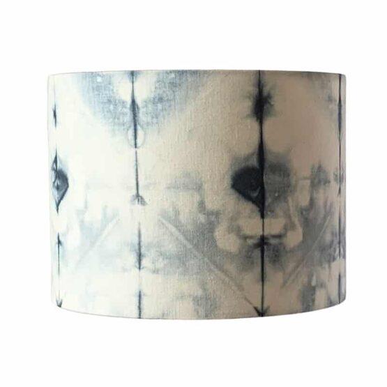 Shibori mintás lámpaernyő