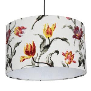 Tulipános lámpaernyő