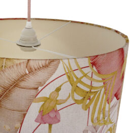 Kakadu mintás, dzsungeles lámpaernyő