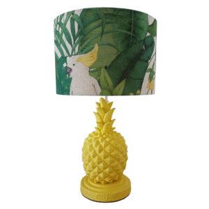 Ananász asztali lámpa
