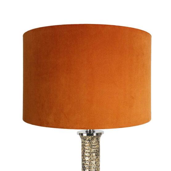 Bársony lámpaernyő - Rusty